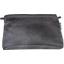 Pochette coton suédine noire - PPMC