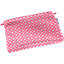 Mini pochette coton   fleurette blush