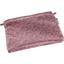 Mini pochette coton lichen prune rose - PPMC