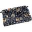 Mini pochette coton  oiseaux-lyre