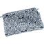 Mini pochette coton  scandinave marine - PPMC