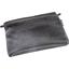 Mini pochette tissu suédine noire - PPMC