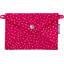 Little envelope clutch fuchsia gold star - PPMC