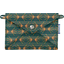 Little envelope clutch eventail or vert - PPMC