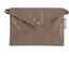 Petite pochette enveloppe lin or - PPMC