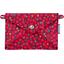 Little envelope clutch pompons cerise - PPMC