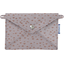 Little envelope clutch triangle cuivré gris - PPMC