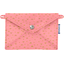 Little envelope clutch powdered gold triangle - PPMC