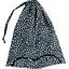 Sac lingerie  eclats bleu nuit - PPMC