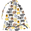 Lingerie bag yellow sheep