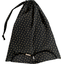 Lingerie bag golden straw - PPMC