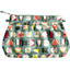 Pleated clutch bag animals cube