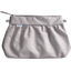 Pleated clutch bag etoile or gris - PPMC