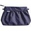 Pleated clutch bag etoile marine or - PPMC