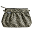 Pleated clutch bag foliage - PPMC