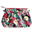 Pleated clutch bag mekong's flowers - PPMC
