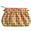 Pleated clutch bag pop flower - PPMC