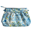 Pleated clutch bag blue forest - PPMC