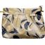 Pochette plissée citrons dorés - PPMC