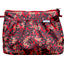 Pleated clutch bag vermilion foliage - PPMC