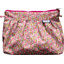 Pleated clutch bag pink jasmine - PPMC