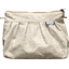 Pleated clutch bag  glitter linen - PPMC