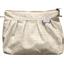 Pochette plissée  lin pailleté - PPMC