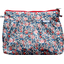 Pleated clutch bag flowered london - PPMC