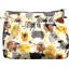 Pleated clutch bag yellow sheep - PPMC