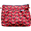 Pleated clutch bag paprika petal - PPMC