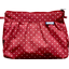 Pleated clutch bag red spots - PPMC