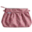 Pleated clutch bag plum lichen - PPMC