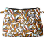 Mini Pleated clutch bag cocoa pods - PPMC