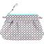 Mini pochette plissée eclats fluo - PPMC