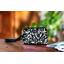 Mini Pleated clutch bag chinese ink foliage