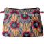 Mini pochette plissée fleurs de savane - PPMC