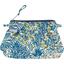 Mini pochette plissée forêt bleue - PPMC