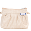 Mini Pleated clutch bag  glitter linen - PPMC