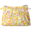 Mini Pleated clutch bag mimosa jaune rose - PPMC