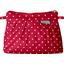 Mini pochette plissée pois rouge - PPMC