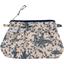 Mini pochette plissée  toile de jouy marine - PPMC