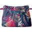 Mini Pleated clutch bag tropical fire - PPMC
