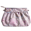Pleated clutch bag rosace  - PPMC