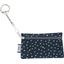 Pochette porte-clés etoile argent jean - PPMC