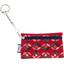 Keyring  wallet paprika petal - PPMC