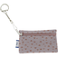 Keyring  wallet triangle cuivré gris - PPMC