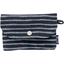 Soap Pouch striped silver dark blue - PPMC