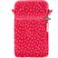 Bolsillo acolchado para teléfono feuillage or rose - PPMC