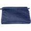 Pochette tissu broderie anglaise marine - PPMC