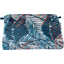 Pochette tissu feuillage marine - PPMC